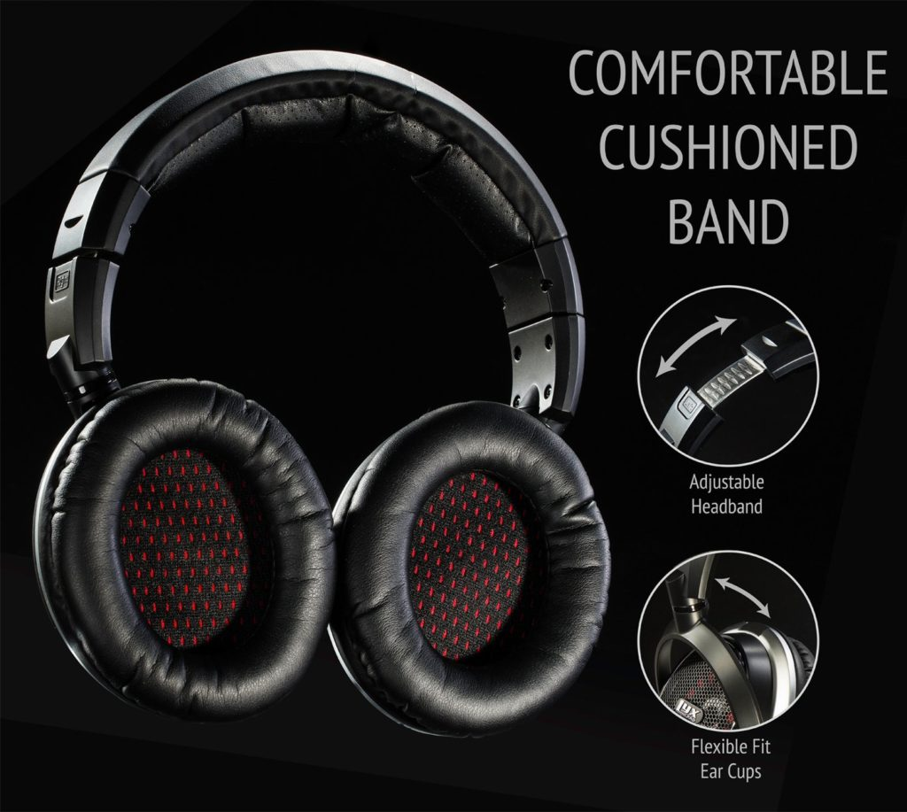 LyxPro OEH-10 best audiophile headphones