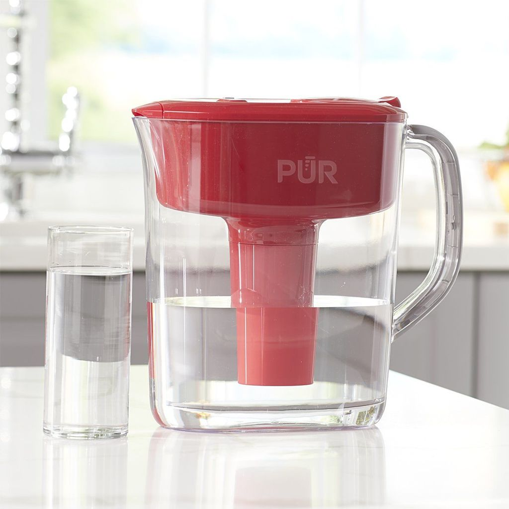 Pur Vs. Brita PUR 11 Cup Ultimate Pitcher with LED & Lead Reduction Filter