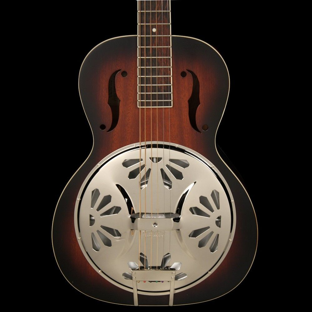 Best Acoustic Electric Guitars Under 500 Gretsch G9220 Bobtail Round-Neck Acoustic-Electric Resonator Guitar