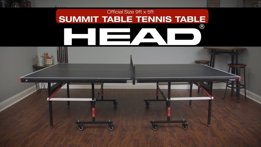 HEAD Summit Table Tennis Table - 18MM Seamless Top