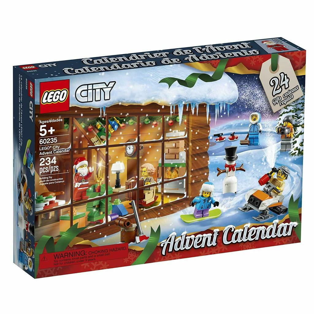 LEGO City Advent Calendar 60235 Building Kit,