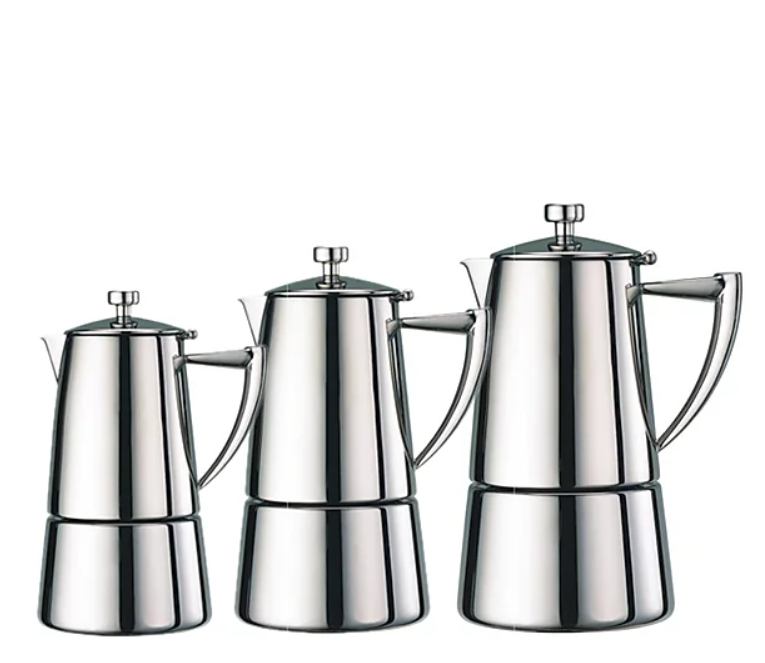 Roma Espresso Stainless Steel Coffeemakers